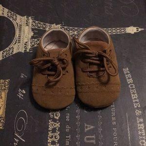 Size 1 infant Oxford shoe